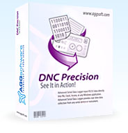 DNC Precision - Manage multiple NC devices via serial port with this all-inclusive DNC software