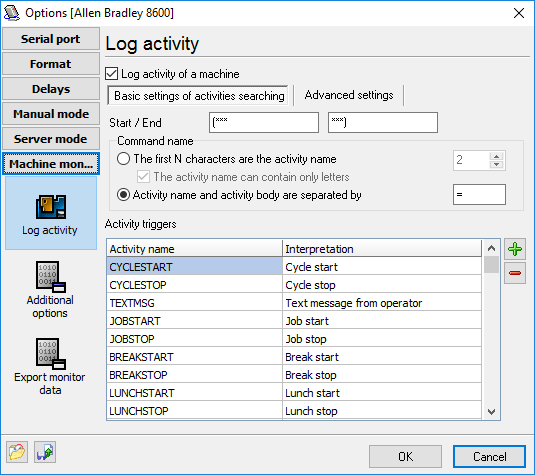 Advanced Serial Data Logger Help  Start Page