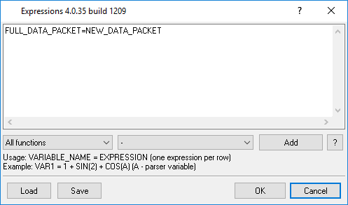 "Configure the ""Expressions"" module"