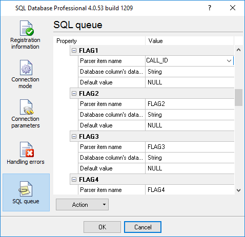 Binding in SQL Database Pro