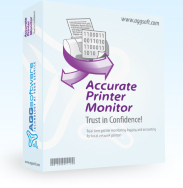 Accurate Printer Monitor - real-time printer monitoring and logging for local, network printers