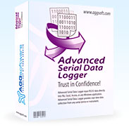 Serial Data Logger Software - serial data logging from Serial, COM, RS232, RS485, RS422 ports to a file, Excel or a database
