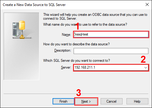 The SQL Server alias setup. Step #2.