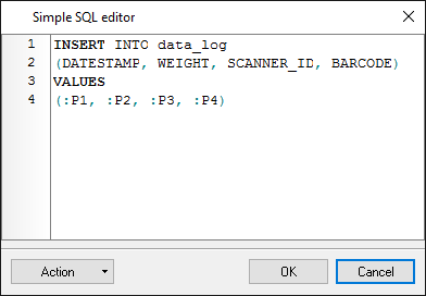 Export to MySQL. SQL Database Prof. SQL editor