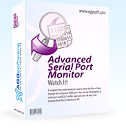Serial Port Monitor - port monitor, sniffer and analyzer for real or virtual COM and RS232, RS485, RS422 ports