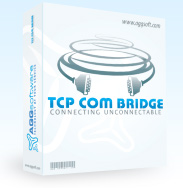 TCP COM Bridge - connects two physical or virtual COM ports to each other over network!