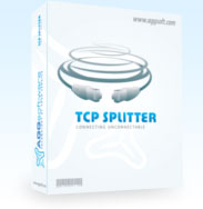 TCP Splitter - TCP Splitter is a software tool that can split a TCP or UDP data stream into two or three identical data streams