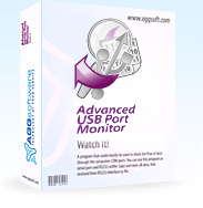 Advanced USB Port Monitor - USB bus, USB device and protocol analyzer software